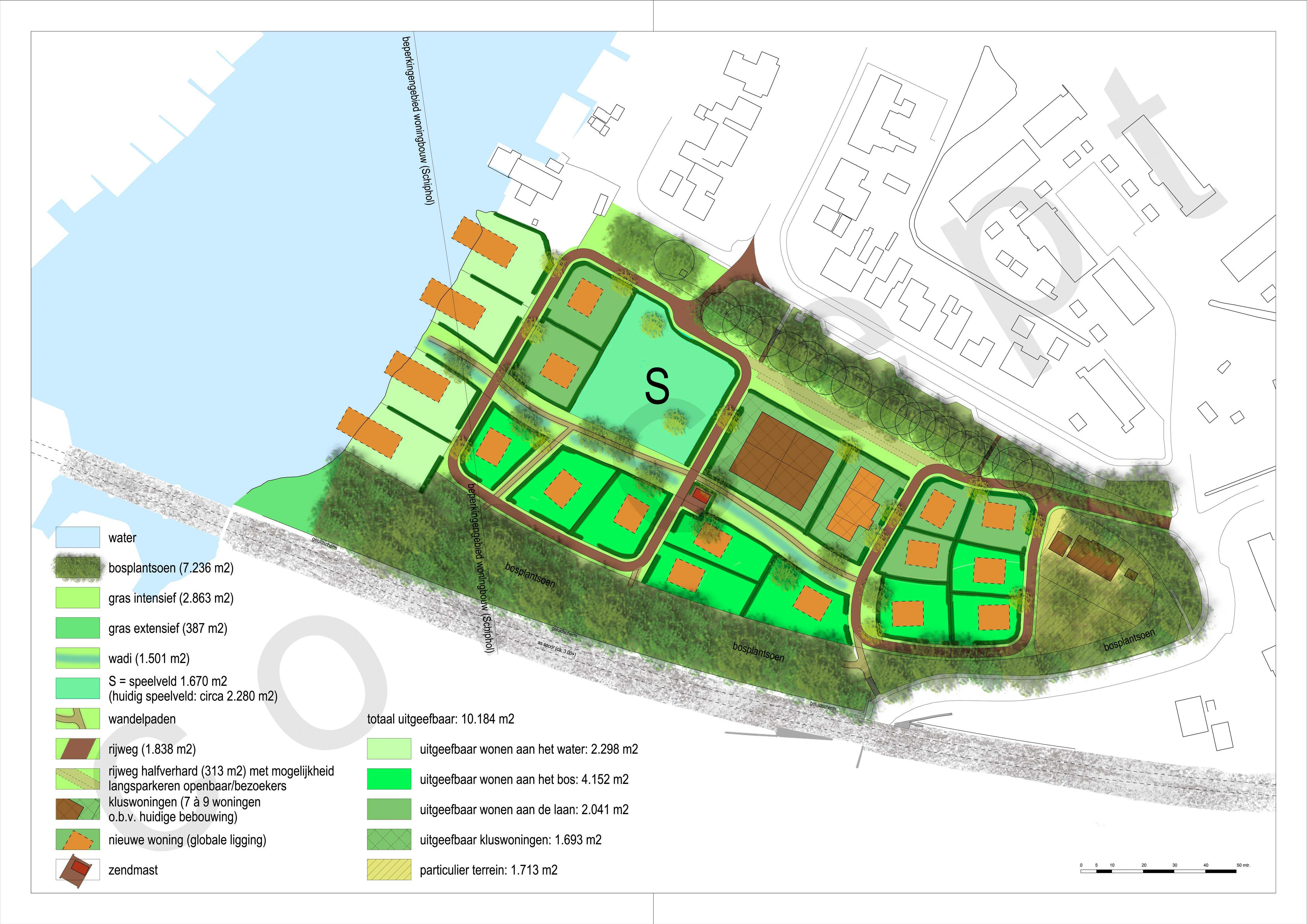 Sectorpark_Halfweg_concept_plankaart_september_2015